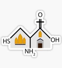 Cysteine Chapel  Sticker