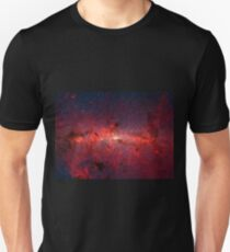 The Milky Way in Infrared Unisex T-Shirt