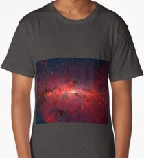 The Milky Way in Infrared Long T-Shirt