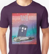 Doctor Who Tardis Delorean Back to the Future mashup T-Shirt
