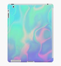 Rainbow Sea Holographic Iridescence iPad Case/Skin