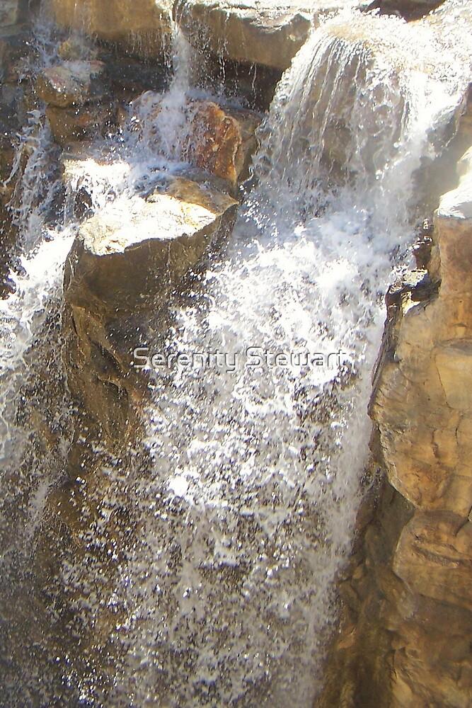 Waterfall #3 by Serenity Stewart