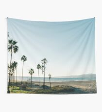 Southern California Palm Trees Wall Tapestry