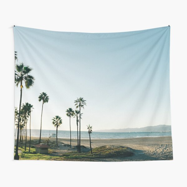 Southern California Palm Trees Tapestry