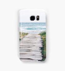 Ocean Boardwalk Samsung Galaxy Case/Skin