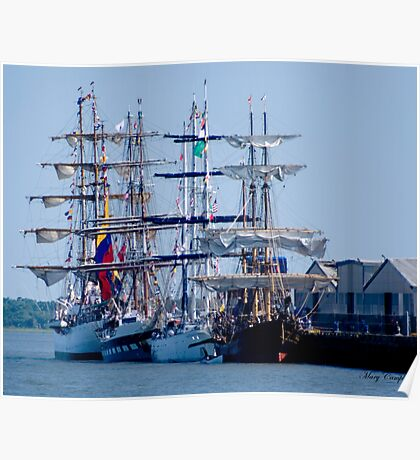 Tall Ships Home Again Poster