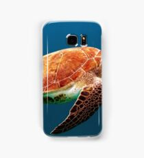 Turtle under the water Samsung Galaxy Case/Skin