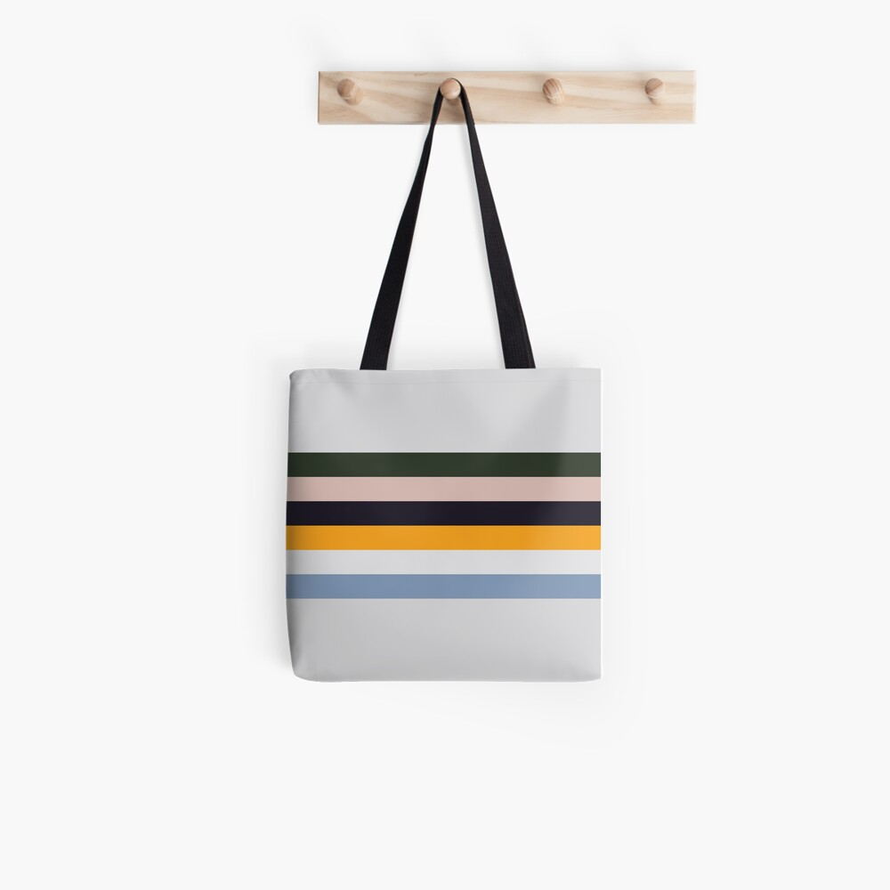 Streifen malen Tote Bag