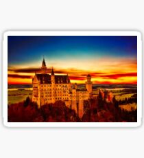 Neuschwanstein Castle Sticker
