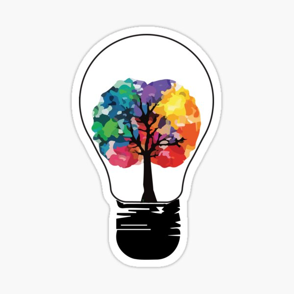 Creative Mind Sticker