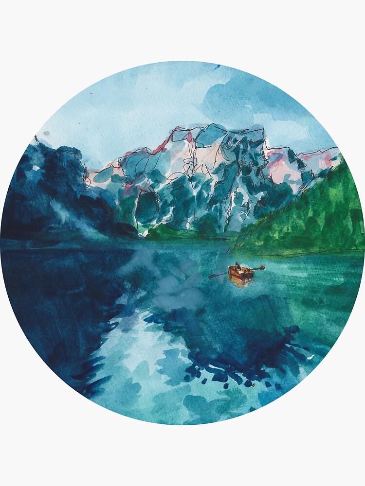 See Naturszene (mit Boot !!!) von dianalea