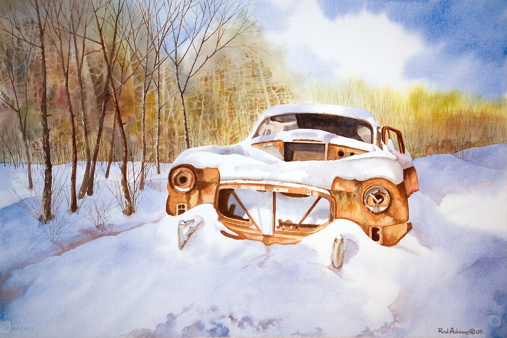 Forgotten Treasure by Rod  Adams