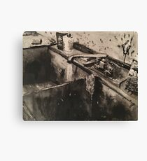 Sink of Horror Canvas Print