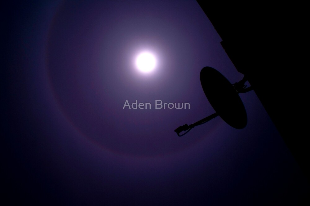 Moon Bow by Aden Brown