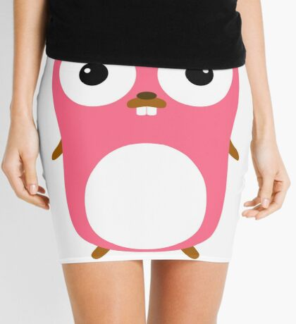 Golang Gopher princess girl Mini Skirt