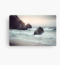 West Coast Beach Canvas Print