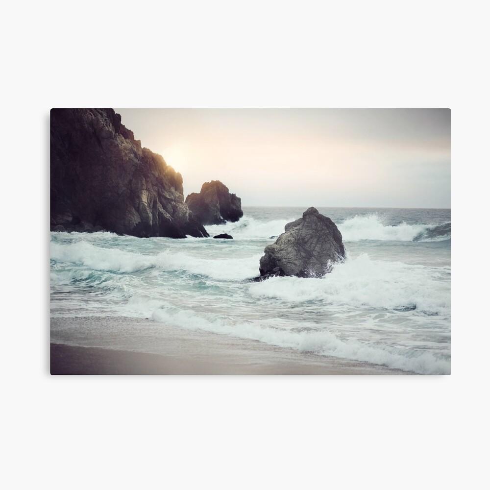 Playa de la costa oeste Lámina metálica