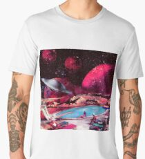 summer landscape Men's Premium T-Shirt