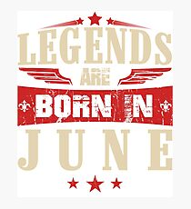 Lámina fotográfica Las leyendas nacen en junio