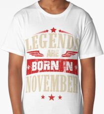 Legends Are Born in November Long T-Shirt