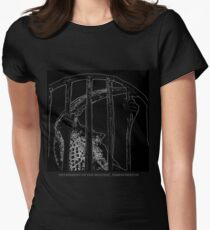 Detainment of the Mucosal Womens Fitted T-Shirt