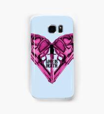 Love Is Death Heart Weapons Samsung Galaxy Case/Skin