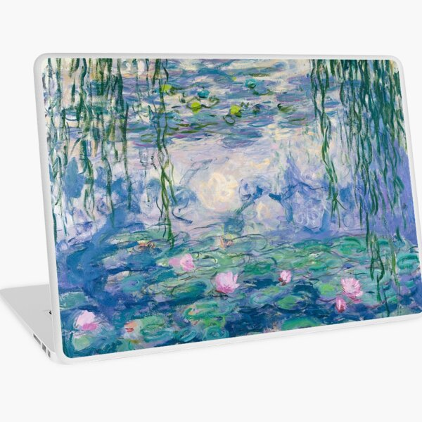 Water Lilies Claude Monet Fine Art Laptop Skin