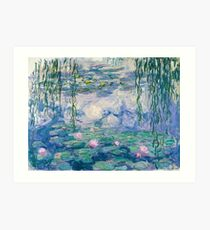 Water Lilies Claude Monet Fine Art Art Print