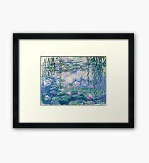 Water Lilies Claude Monet Fine Art Framed Print