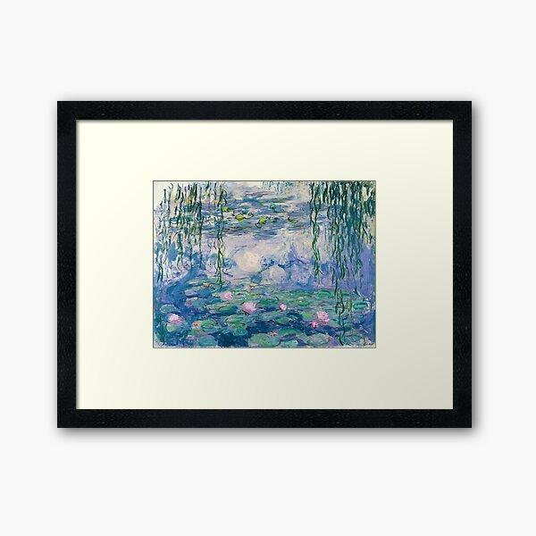 Water Lilies Claude Monet Fine Art Framed Art Print