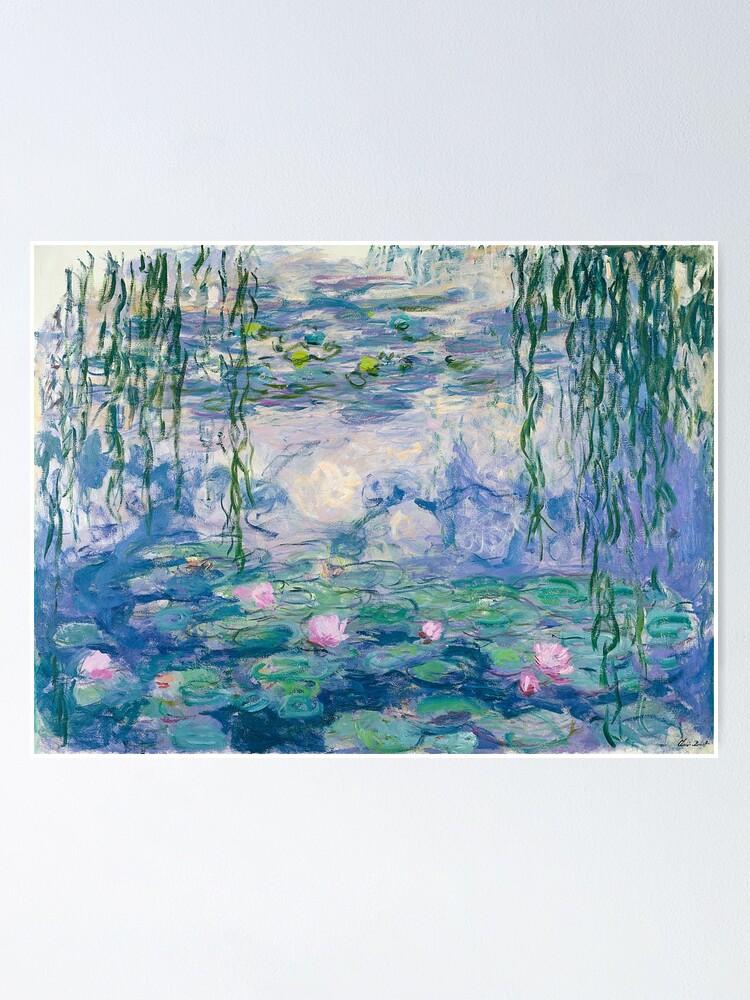 Alternate view of Water Lilies Claude Monet Fine Art Poster