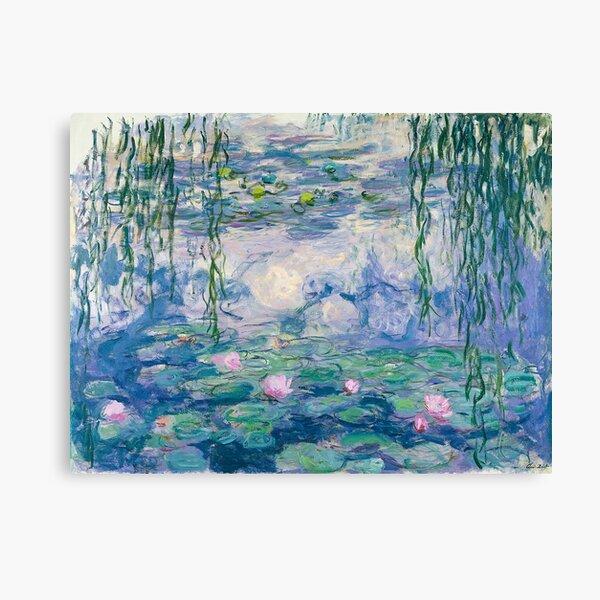 Water Lilies Claude Monet Fine Art Canvas Print