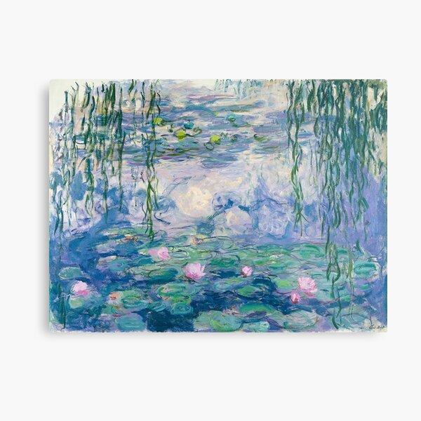 Water Lilies Claude Monet Fine Art Metal Print