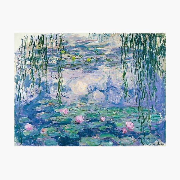 Water Lilies Claude Monet Fine Art Photographic Print