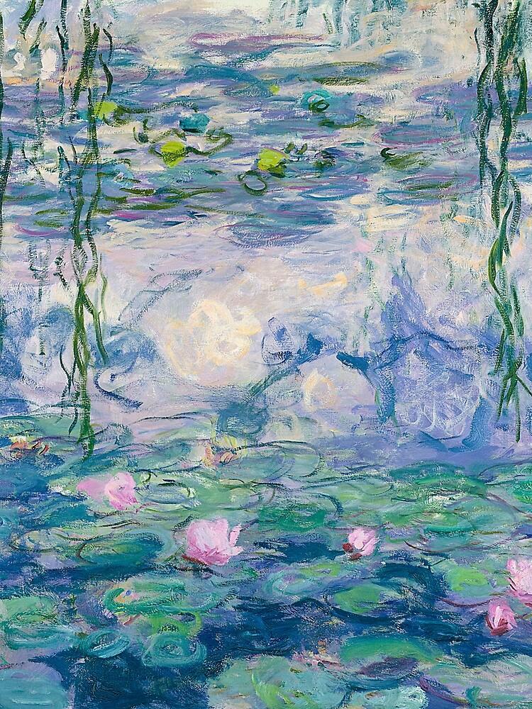 Water Lilies Claude Monet Fine Art by bragova