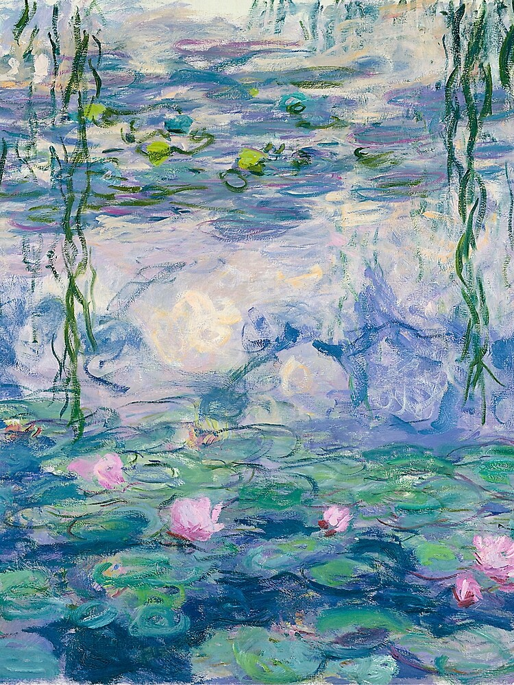 Water Lilies Claude Monet Fine Art by bragova
