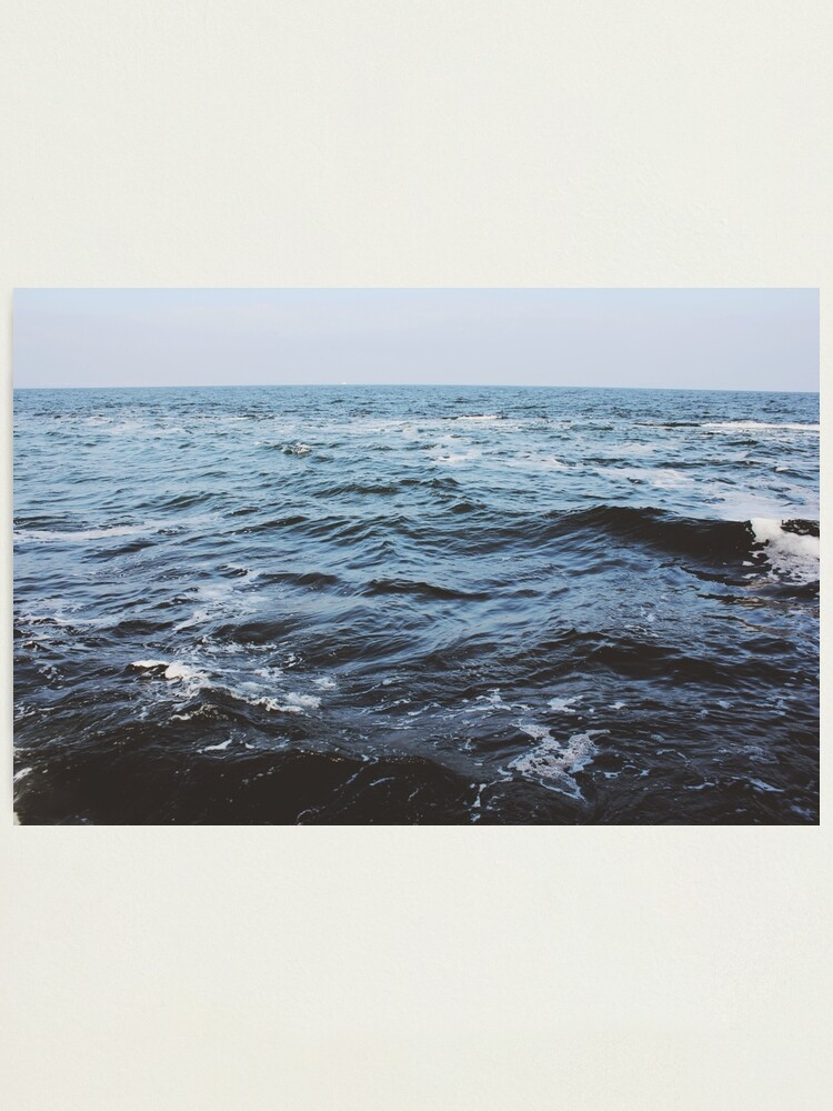 Alternate view of Ocean Wave Photographic Print