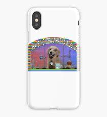 Chemistry Dog Meme iPhone Case/Skin