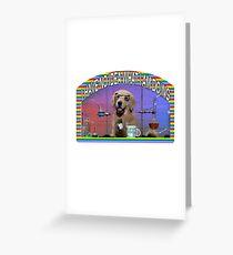Chemistry Dog Meme Greeting Card