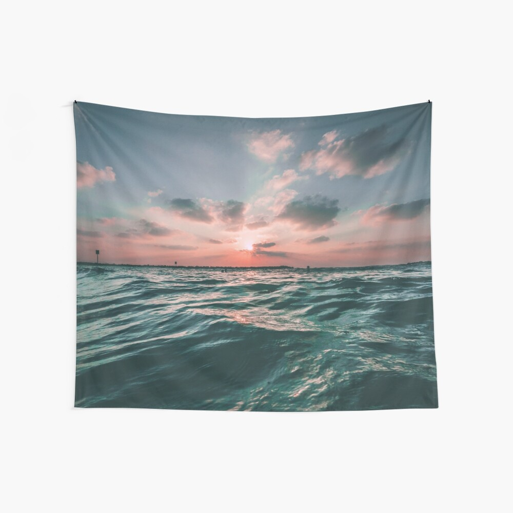 Sunset Paradise Wall Tapestry