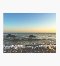 Oregon Ocean Photographic Print