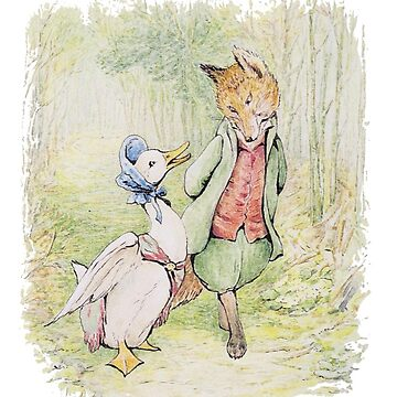 Jemima Puddleduck with the Fox by vintageemporium