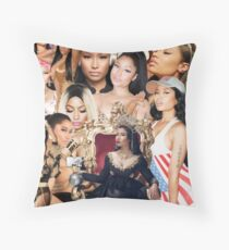 Queen Nic  Throw Pillow