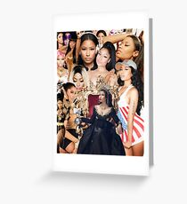 Queen Nic  Greeting Card