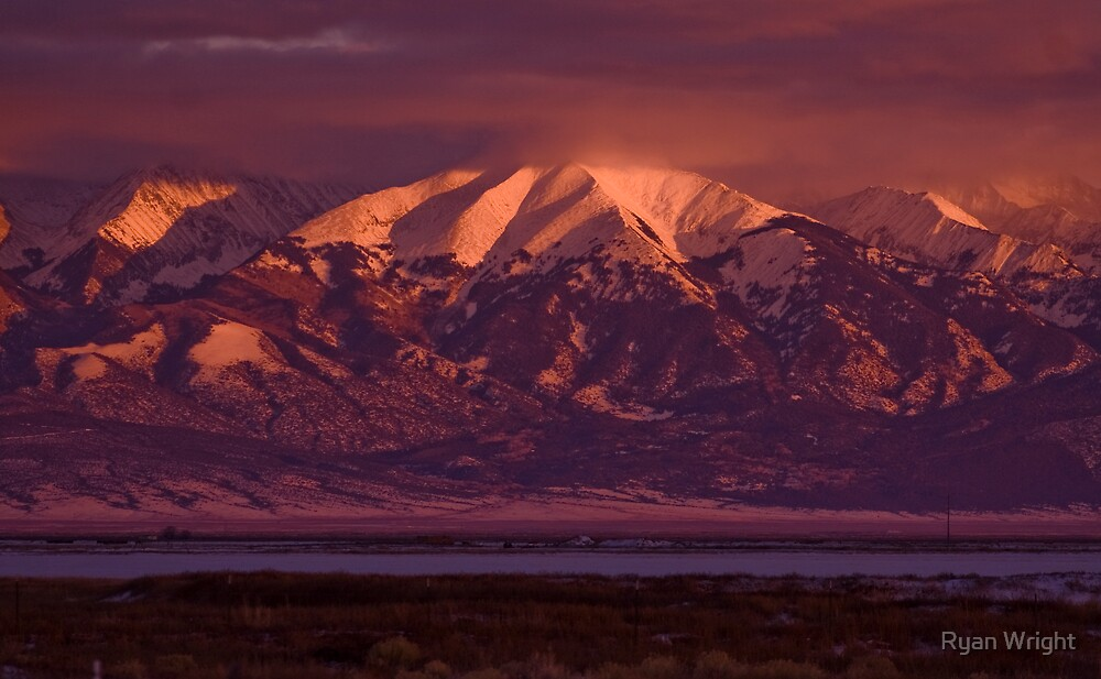 Blanca Sunset by Ryan Wright