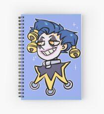 Tiny Jester Spiral Notebook