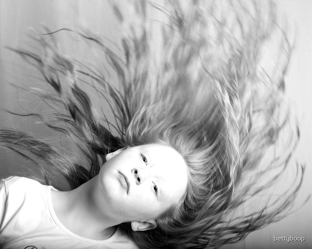 Hair raising by bettyboop