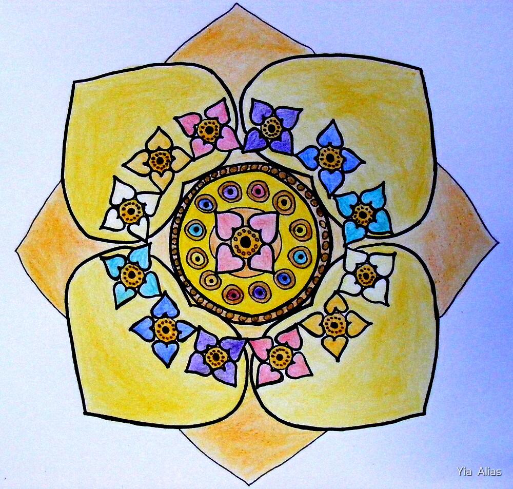 Demeter Mandala by Yia  Alias