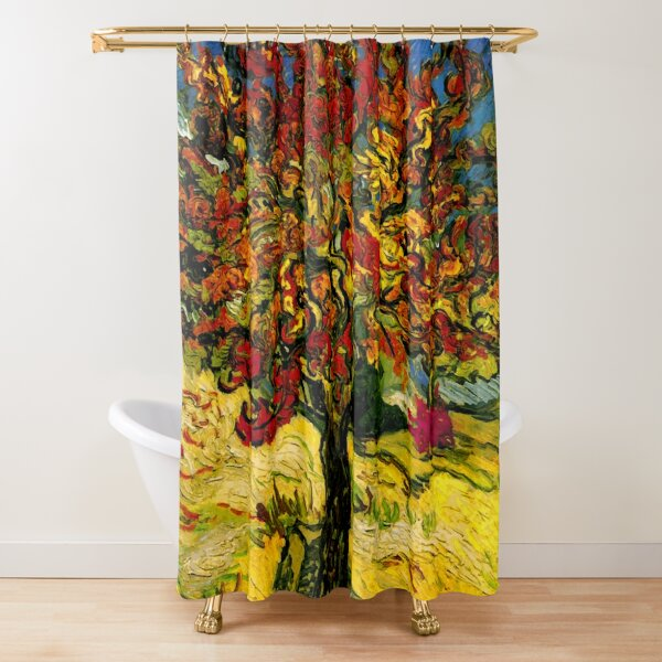 Van Gogh Mulberry Tree Shower Curtain