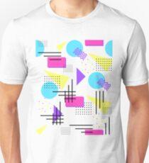 90's nostalgia bold print T-Shirt
